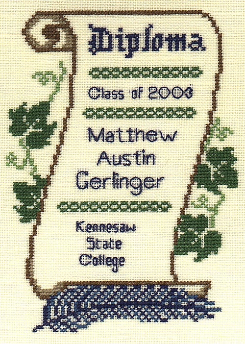 Image of the Graduation Sampler